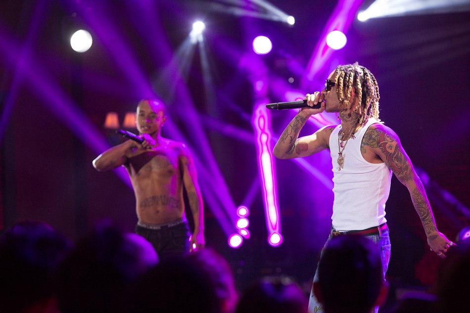 Rae Sremmurd perform on AT&T AUDIENCE Network