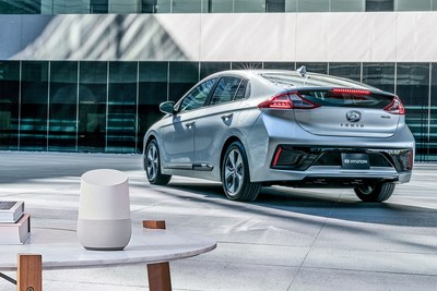Hyundai's Blue Link Agent for the Google Assistant, demonstrated at Pepcom's Digital Experience prior to the 2017 Consumer Electronics Show (CES®) is now available for use by Hyundai owners. The announcement was made during a press conference at the New York International Auto Show today.