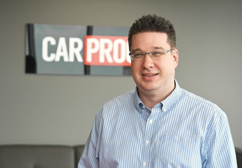 Greg Beckman joins CARPROOF as vice-president, product. (CNW Group/CARPROOF)