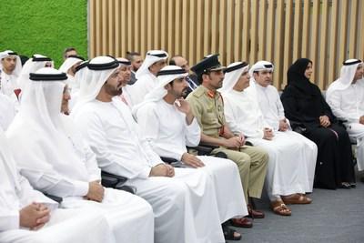 HH Sheikha Hamdan bin Mohammed Al Maktoum, Crown Prince of Dubai, during the closing ceremony (PRNewsfoto/The Dubai Future Foundation DFF)