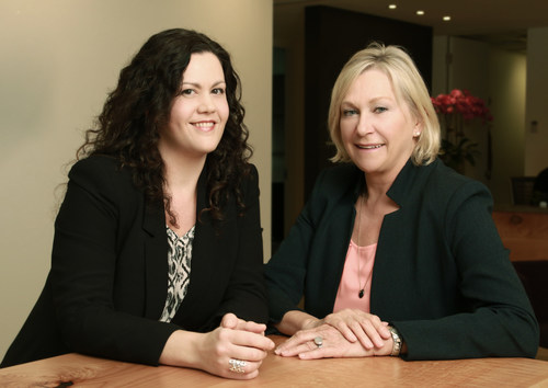 FleishmanHillard and Mustel Group have partnered to survey the media consumption habits of British Columbians. Anna Lilly (left) is Senior Vice-President and Partner at FleishmanHillard. Evi Mustel is Principal of Mustel Group. They are based in Vancouver. (CNW Group/Fleishman-Hillard Inc.)