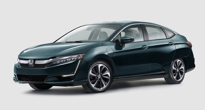 The Honda Clarity Plug-in Hybrid (shown) and Clarity Electric were unveiled at 2017 New York International Auto Show on Wednesday, April 12. The new models join the recently-introduced Clarity Fuel Cell as Honda continues to electrify its lineup.