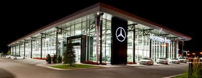 Mercedez-Benz Rive-Sud (CNW Group/AutoCanada Inc.)