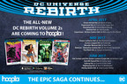 DC Entertainment's Best-Selling 'DC Universe Rebirth' Comic Collections Expand on hoopla digital