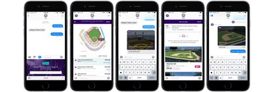 Add the StubHub app in iMessage and vote on events with your friends.