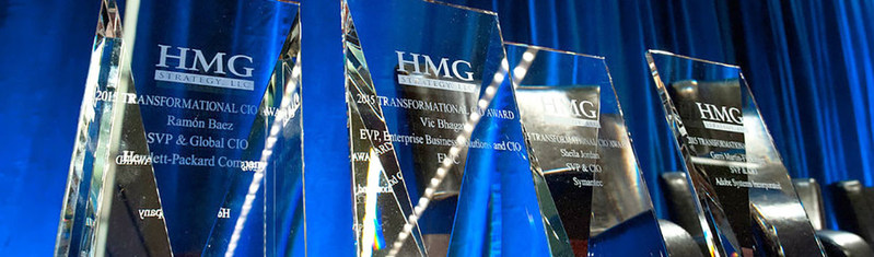 HMG Strategy Proudly Announces the 2017 Transformational Award Recipients Visit https://hmgstrategy.com/network/cio-awards to learn more!