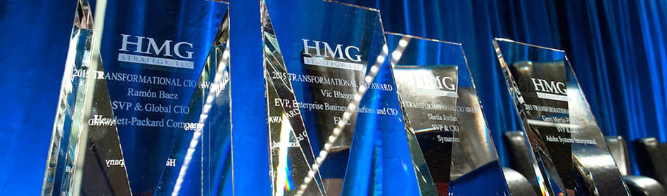 HMG Strategy Proudly Announces the 2017 Transformational Award Recipients Visit http://hmgstrategy.com/network/cio-awards to learn more!