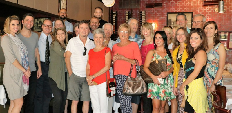 The St. Petersburg Foodies Holiday Brunch at Gratzzi Italian Grille in Downtown St. Petersburg, FL