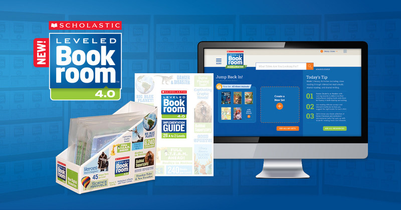 Scholastic launches Leveled Bookroom 4.0, a comprehensive literacy resource for grades K–6 that combines high-quality, leveled books with print and digital instructional materials to support educators.