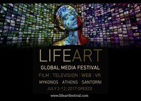 www.lifeartfestival.com / LifeArt Global Media Festival is a Multimedia Festival and a creative movement celebrating Life, Art, and Film. Its aim is to inspire Global Media artists, offering them a canvas for freedom of expression. All events will be taking place in iconic locations around the city of Athens and the islands of Mykonos and Santorini. On July 12th 2017, the Closing Ceremony of LifeArt will take place in the thrilling Ancient Theatre of Herodion under the Acropolis.