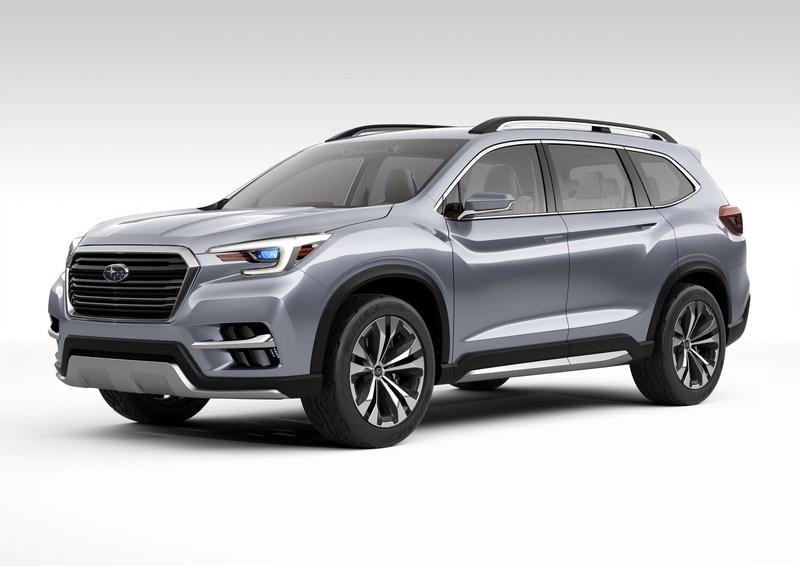Subaru Ascent SUV Concept (CNW Group/Subaru Canada Inc.)