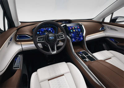 VUS concept Subaru Ascent (Groupe CNW/Subaru Canada Inc.)