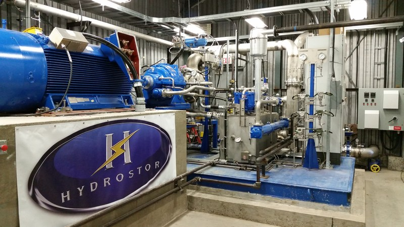 Hydrostor Advanced Compressed Air Energy Storage (A-CAES) demonstration facility, Toronto, Ontario. (CNW Group/Hydrostor Inc.)