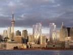 Une vue panoramique du nouveau siège social de la Banque CIBC, développé par Ivanhoé Cambridge et Hines. (Groupe CNW/Banque Canadienne Impériale de Commerce)