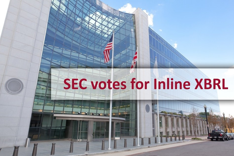 SEC votes for Inline XBRL (PRNewsfoto/DataTracks Services Limited)