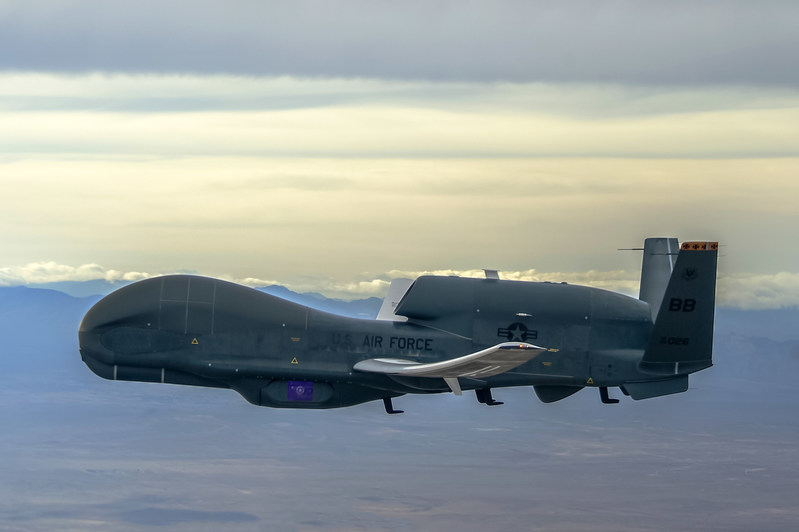 Northrop Grumman RQ-4B Global Hawk Unmanned Aircraft System. Photo credit: Northrop Grumman.