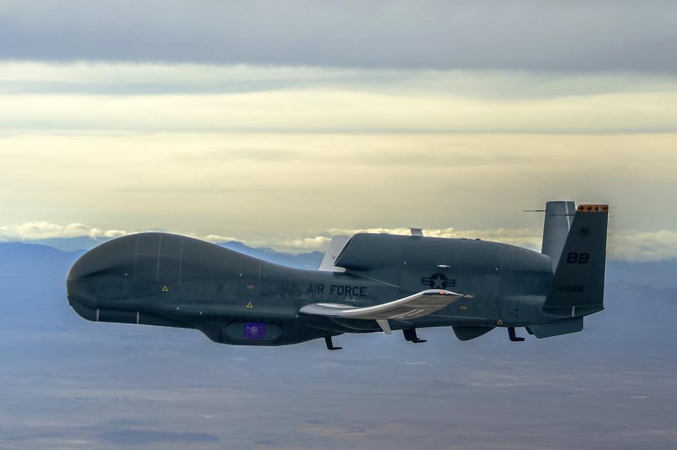 Northrop Grumman RQ-4B Global Hawk Unmanned Aircraft System. Photo credit: Northrop Grumman.