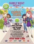 Ovation Brands and Furr's Fresh Buffet present Nancy Drew: Codes & Clues Family Night from April 20 to May 25.