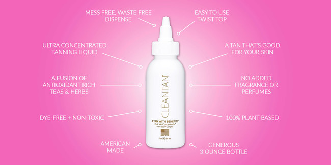 Ultra Concentrated Tanning Liquid by CLEANTAN