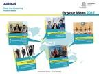 """Airbus nomme les finalistes du concours étudiant """"Fly Your Ideas 2017"""""""