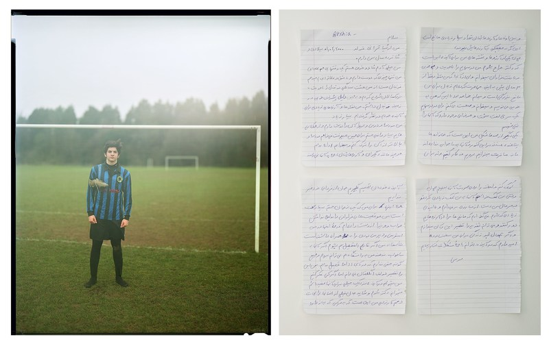 Winner image: 16 yo Iranian Asylum seeker Arshia. Through sports he finds inclusion and friends. (PRNewsfoto/FC Barcelona)
