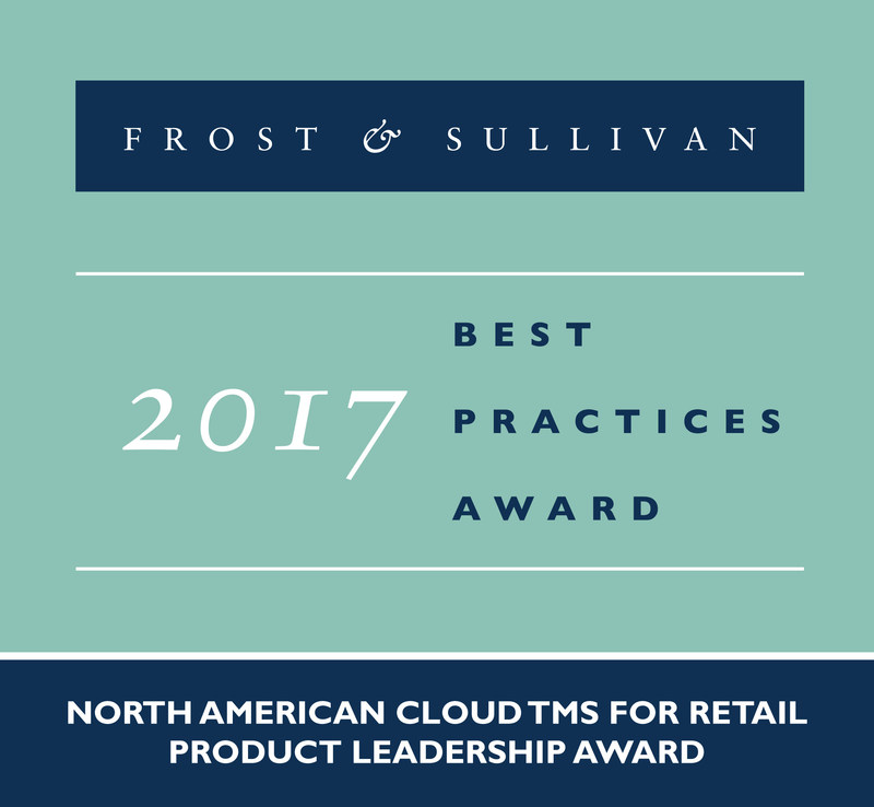 Frost & Sullivan recognizes MercuryGate International, Inc. with the 2017 North American Product Leadership Award.