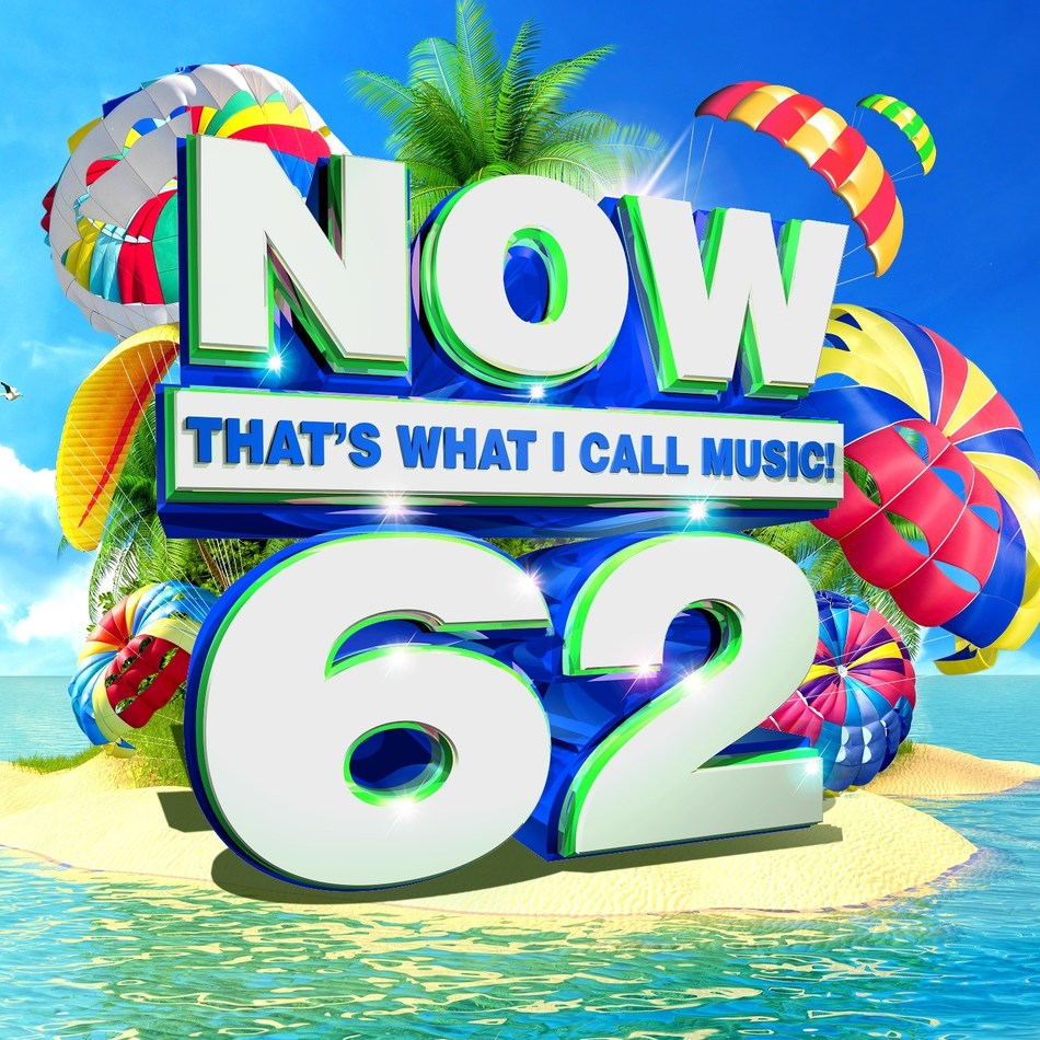 NOW That's What I Call Music!, the world's best-selling multi-artist album series, presents today's biggest hits on 'NOW That's What I Call Music! 62,' to be released May 5. On the same date, 'NOW That's What I Call A Workout 2017 (Hits & Remixes),' the series' seventh volume of high-energy hits and remixes (already available digitally), will be released on CD. 'NOW 62' and 'NOW Workout 2017 (Hits & Remixes)' are available now for preorder.