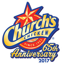 Church's will be offering Customer Appreciation Days which include a Happy (65th Anniversary) Hour featuring 65-cent fried chicken legs and thighs. The Happy Hours will take place April 17-21, 2017 from 2-4 p.m. at participating restaurants.