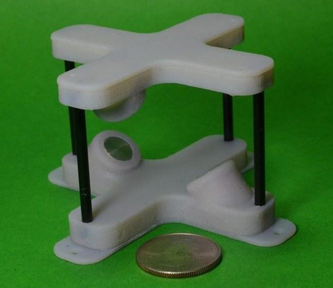 World's smallest 3D wind speed sensor (PRNewsfoto/Syncroness, Inc.)