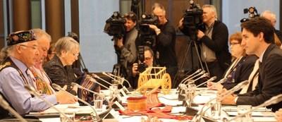 Canada - Métis Nation Leadership Summit (CNW Group/Métis National Council)
