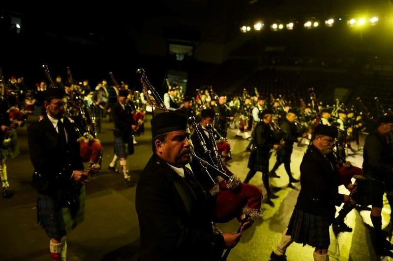 Massed Bagpipes and Drums