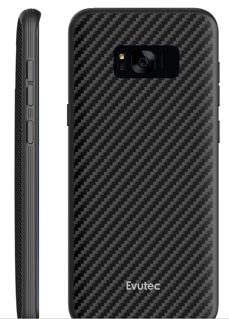 Evutec Kevlar AER case for Samsung Galaxy S8 and S8+.