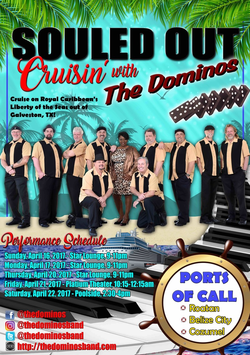 Souled Out Cruisin With The Dominos Band Poster