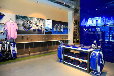 ATLANTA, GA -  The Mizuno Experience Center is now open in The Battery Atlanta, featuring Mizuno golf clubs, apparel and the patented Performance Fitting System to get you fit for the right set make-up for your game. (Photo by Daniel Shirey/Getty Images for Mizuno)