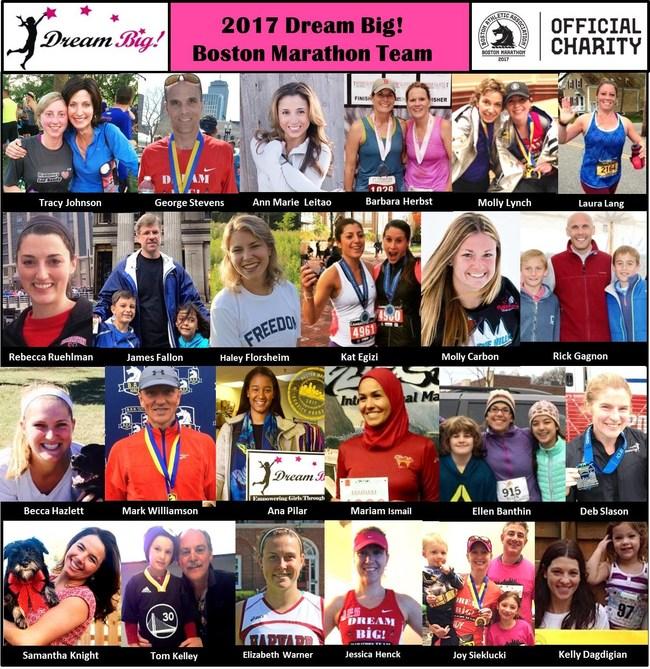 2017 Dream Big! Boston Marathon Team