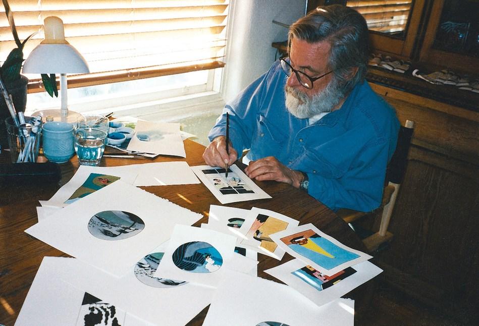 Ken Price at work