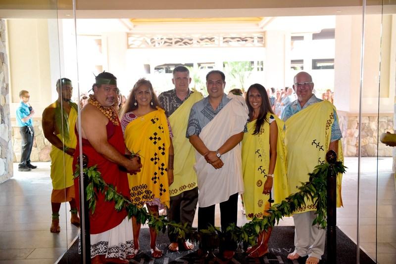 The Westin Nanea Ocean Villas celebrates opening with traditional Hawaiian blessing.