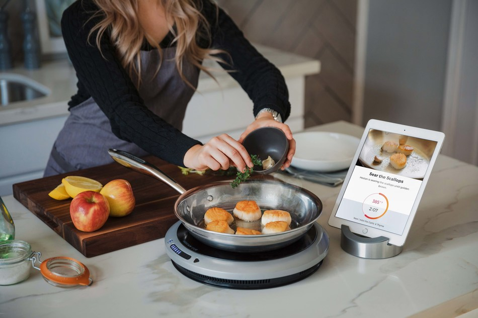 HESTAN DEBUTS HESTAN CUE: New, Video-Guided Cooking System - Inspires, Guides and Equips Home Cooks to Cook Better Food, More Often
