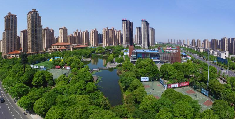 The ever evolving Changzhou National Hi-Tech District in Changzhou, China