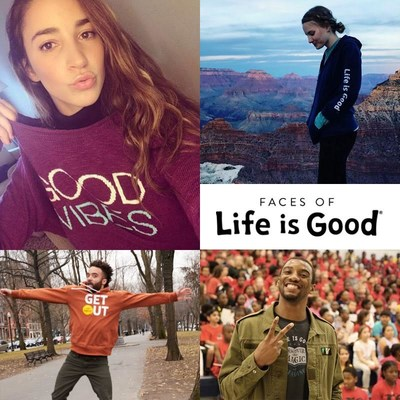 Life is Good' Launches Faces of Life is Good Community to Inspire Optimism