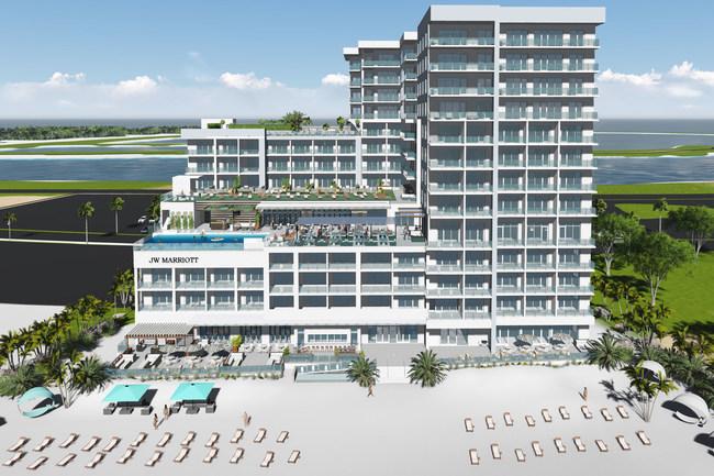 JW Marriott Clearwater Beach - Artistic Rendering