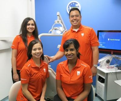Aponia Dental Dentist team 2017 (CNW Group/Aponia Dental)