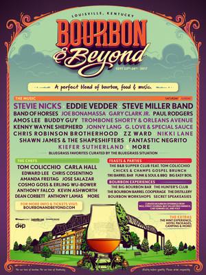 2017 BOURBON & BEYOND Festival Official Line Up (PRNewsfoto/BOURBON & BEYOND)
