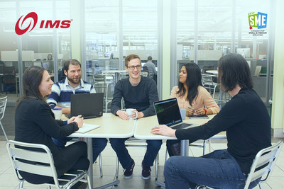 IMS Named One of Canada's Top Small and Medium Employers for 2017. (CNW Group/Intelligent Mechatronic Systems Inc.)