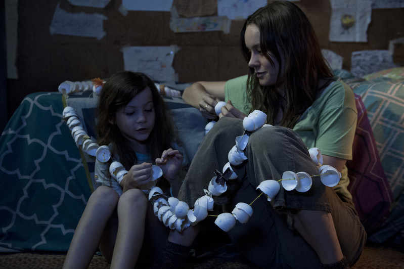 Jacob Tremblay and Brie Larson in Room, airing on The Movie Network (CNW Group/Bell Media)
