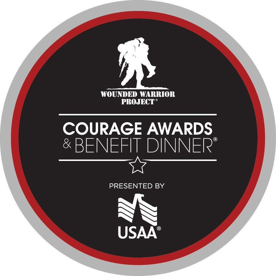 USAA will be the presenting sponsor of Wounded Warrior Project's 2017 Courage Awards and Benefit Dinner.