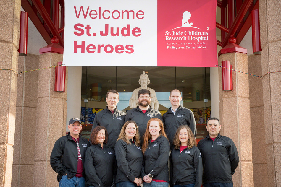 Congratulations to our St. Jude Heroes for crossing the finish line at the 2017 Boston Marathon and raising more than $170K for the kids of St. Jude Children's Research Hospital