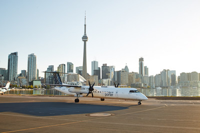 Fly non-stop from Billy Bishop Toronto City Airport to Mont Tremblant International Airport (CNW Group/Porter ...