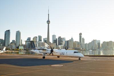Plaisirs d'été avec le service aérien de Porter Airlines à Mont-Tremblant (Groupe CNW/Porter Airlines Inc.)