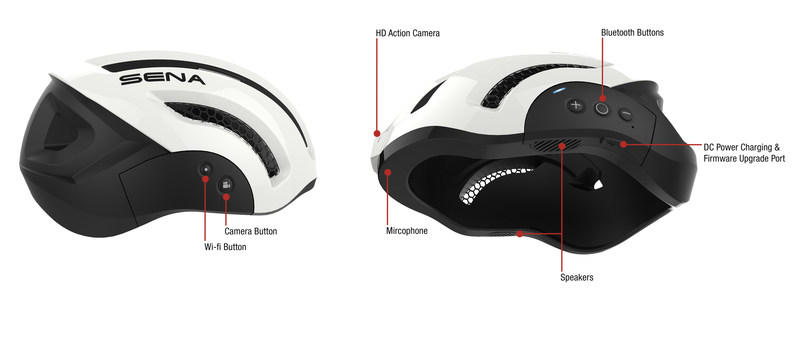 The Sena X1 Helmet: the World's First Smart Helmet for Cycling